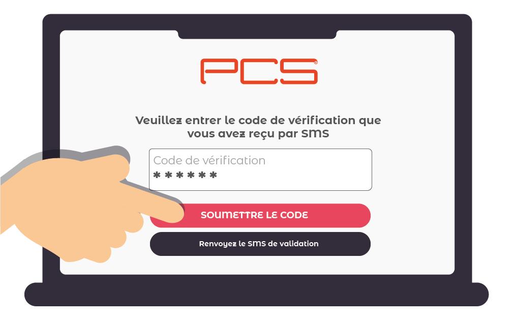 Comment activer ma carte PCS sur le site web www.mypcs.com?